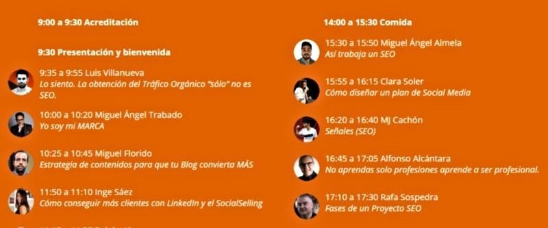 DMS Valencia ponencias del congreso de marketing digital