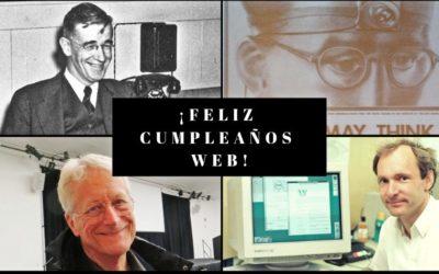 ¡Feliz cumpleaños World Wide Web!