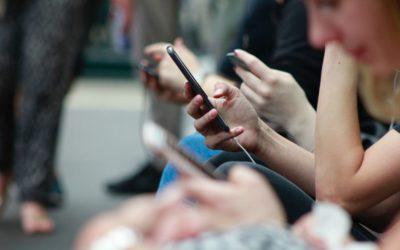 El tiempo de uso de redes sociales comienza a decaer